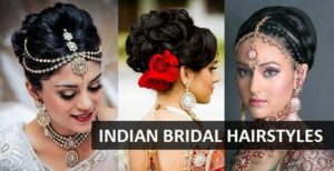 indian bridal hairstyles for wedding function