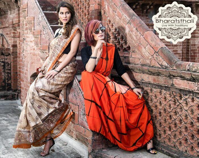 bharatsthali sarees in India