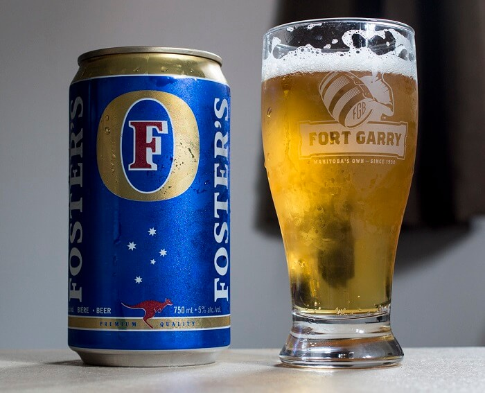 Foster's beer brand in india