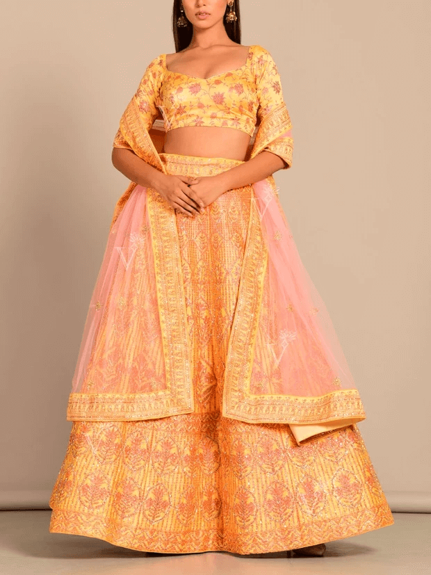 Indian Bridal Wedding Lehenga