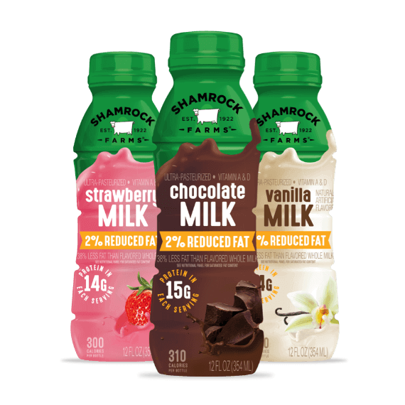 Shamrock Farms milk